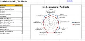 Mystery Guest - Checkliste - (c) 2017 Genuss Grenzenlos - Analyse Erscheinungsbild / Ambiente